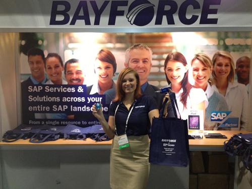 BayForce Swag at SAP TechEd 2012 Las Vegas
