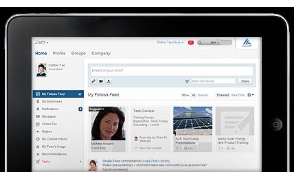 SAP Jam on iPad